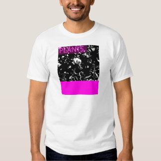 Pink Plants Tee Shirt