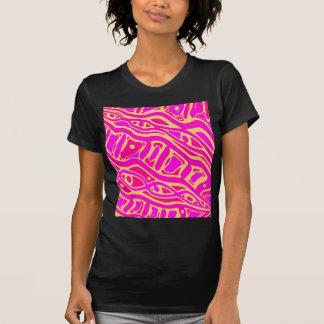 Pink playful pattern T-Shirt