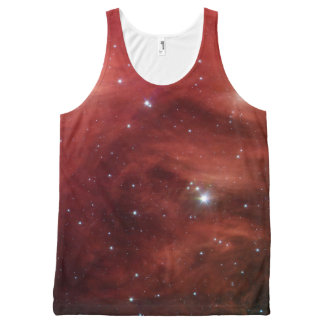 Pink Pleiades Infrared SSC2007 07b All-Over Print Singlet