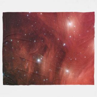 Pink Pleiades Infrared SSC2007 07b Fleece Blanket