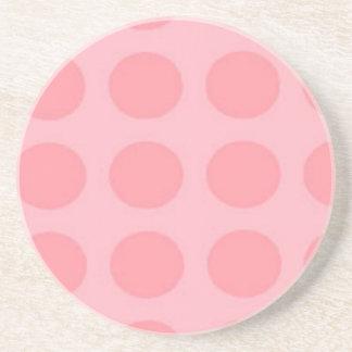 Pink Polka Dot Coaster