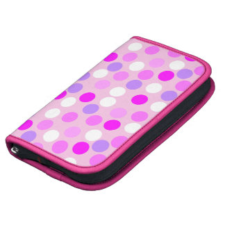Pink Polka Dot Folio Smartphone Planner