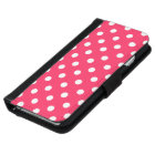 Pink Polka Dot iPhone 6 Wallet Case
