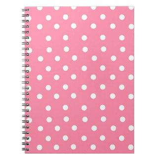 Pink Polka Dot Notebook