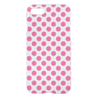 Pink Polka Dots iPhone 8/7 Case