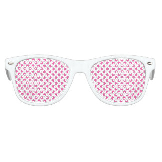Pink Polka Dots Kids Sunglasses