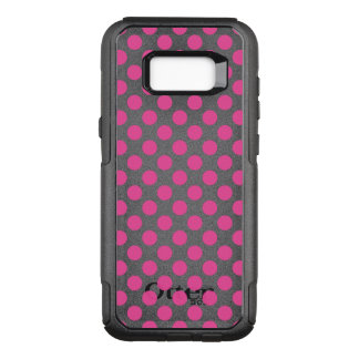 Pink Polka Dots OtterBox Commuter Samsung Galaxy S8+ Case