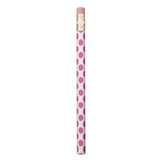 Pink Polka Dots Pencil