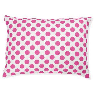 Pink Polka Dots Pet Bed