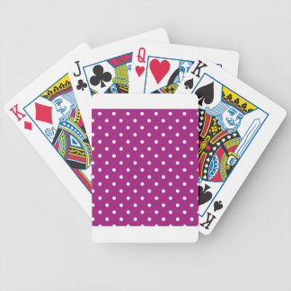 Pink Polka-dots Poker Deck