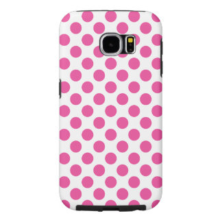 Pink Polka Dots Samsung Galaxy S6 Cases
