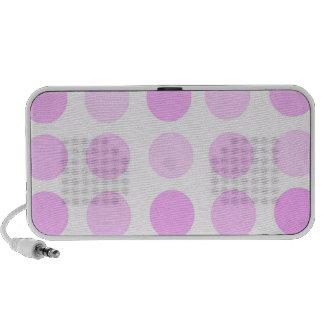 Pink Polka Dots Speaker System