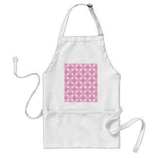 Pink Polka Dots Standard Apron