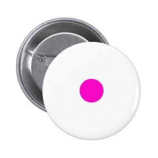 Pink Polkadots Small Button
