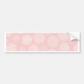 Pink Pom Poms Bumper Sticker