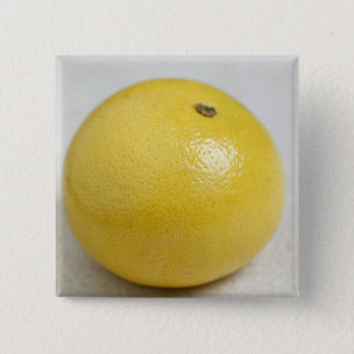 Pink pomelo For use in USA only.) 15 Cm Square Badge
