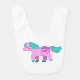 Pink Pony Bib