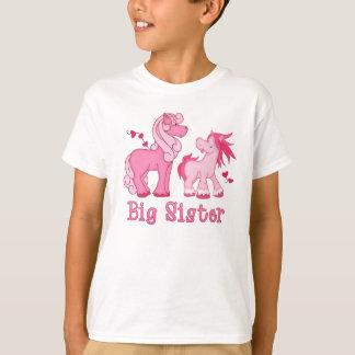 Pink Ponys Big Sister Tshirt