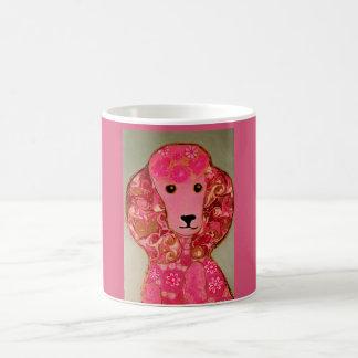 Pink Poodle Dog Mug
