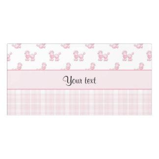 Pink Poodles & Pink Checks Door Sign