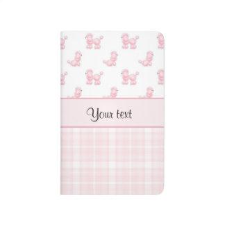Pink Poodles & Pink Checks Journal