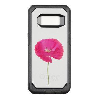 pink poppy OtterBox commuter samsung galaxy s8 case