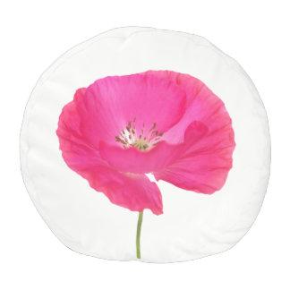 pink poppy pouf
