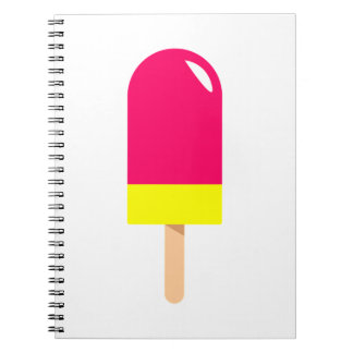 Pink Popsicle Drawing Notebooks