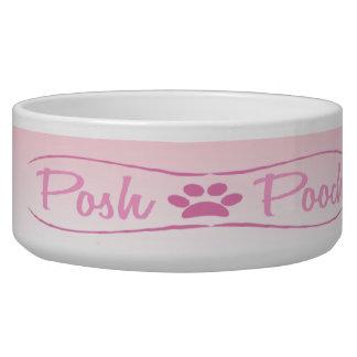 Pink Posh Pooch Dog Bowl