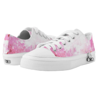 Pink Power Low Tops