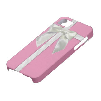 Pink Present Iphone5s case iPhone 5 Case