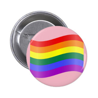 pink pride 6 cm round badge