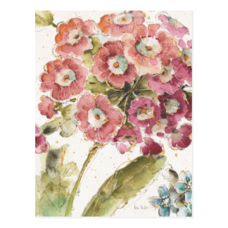 Pink Primrose Postcard