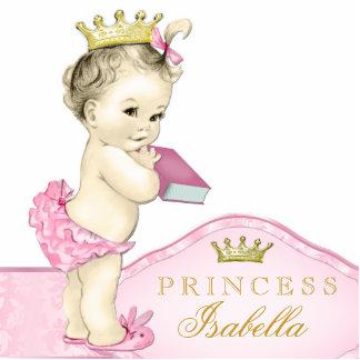 Pink Princess Baby Shower Photo Cutouts