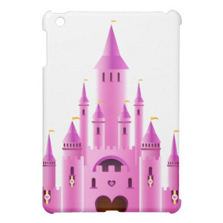 Pink princess girly castle fairytale royal iPad Case For The iPad Mini