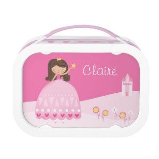 Pink Princess Lunchbox - Personalized