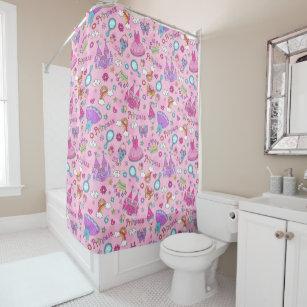 Pink Princess Shower Curtain