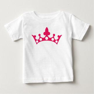 Pink Princess Tiara Baby T-Shirt