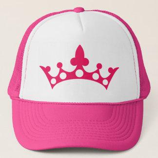Pink Princess Tiara Trucker Hat