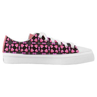 Pink printed Designer Sneakers