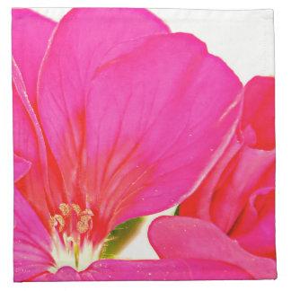 Pink Printed Napkin