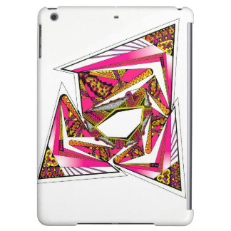 Pink Psychedelic Design on iPad Air Matte Case