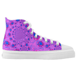 PInk Psychedelic Funky Print High Tops