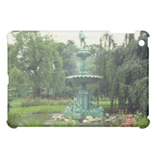 Pink Public gardens flowers iPad Mini Cases