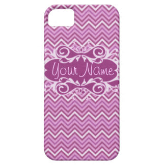 Pink & Purple Chevron iPhone 5 Case-mate Barely There iPhone 5 Case