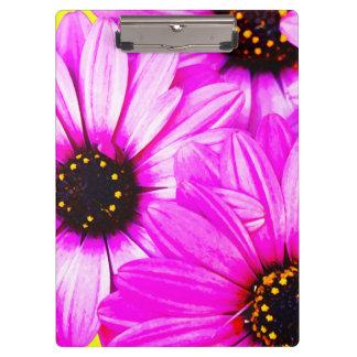 Pink/Purple Daisies - Clipboard