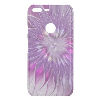 Pink Purple Flower Passion Abstract Fractal Art Uncommon Google Pixel XL Case