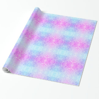 Pink / Purple frosted design Wrapping Paper