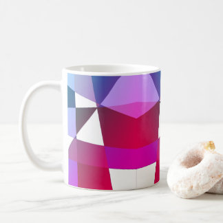 Pink Purple Geometric Mug