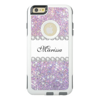 Pink Purple Glitter Otterbox iPhone 6/6s Plus Case